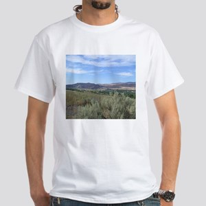 view of the Boise River valley T-Shirt