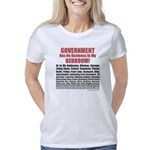 Gov't Has No Business Women's Classic T-Shirt