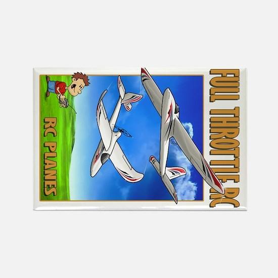 Sky Surfer Full Throttle RC Rectangle Magnet