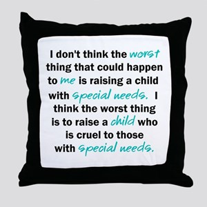 I Dont Think Throw Pillow