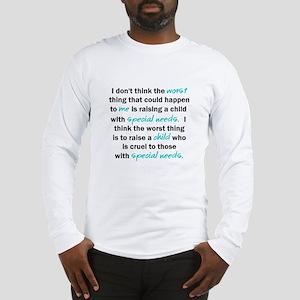 I Dont Think Long Sleeve T-Shirt