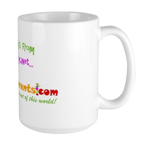 """""""My Daddy's from..."""" Large Mug"""