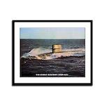 USS GEORGE BANCROFT Framed Panel Print