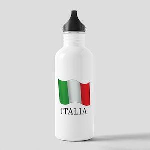 Italia Flag Stainless Water Bottle 1.0L