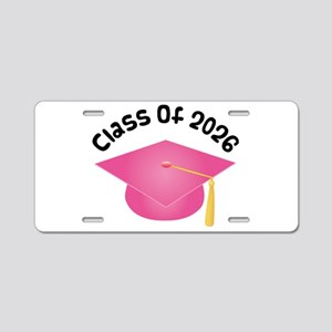 Class of 2026 (Pink) Aluminum License Plate