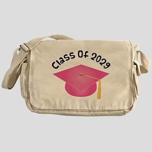Class of 2029 (Pink) Messenger Bag