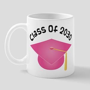 Class of 2030 (Pink) Mug