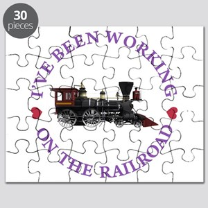 I've Been Working On The Railroad Puzzle