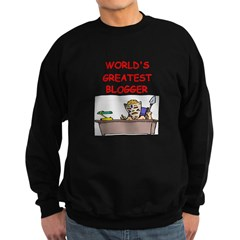 blogger Sweatshirt (dark)