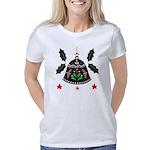 Folk Art Christmas Bell Women's Classic T-Shirt