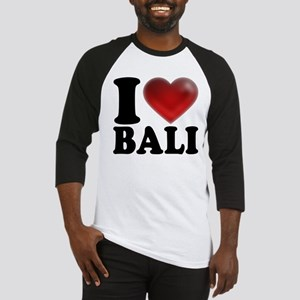 I Heart Bali Baseball Jersey