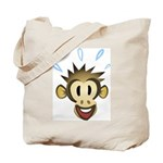 Happy Monkey Tote Bag