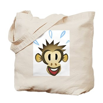 Happy Monkey Tote Bag