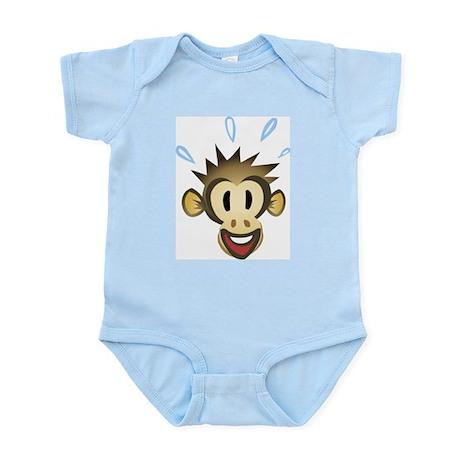 Happy Monkey Infant Creeper
