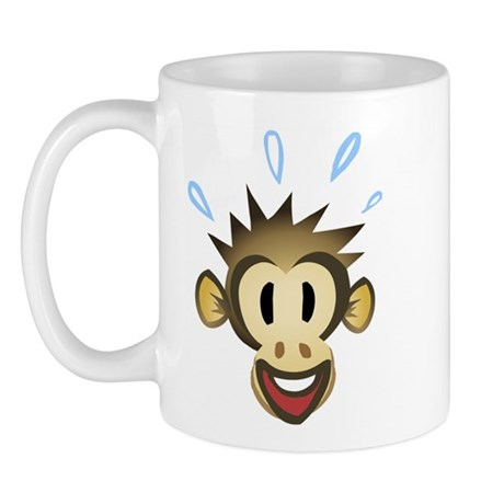 Happy Monkey Mug
