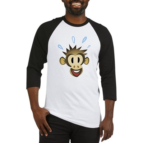 Happy Monkey Baseball Jersey