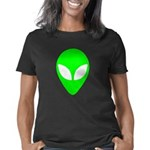plainalienheadwht Women's Classic T-Shirt