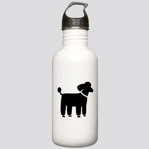 Black Poodle Stainless Water Bottle 1.0L