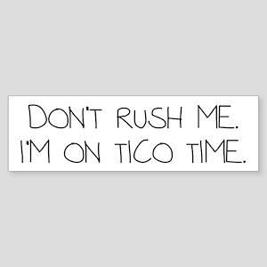 Tico Time Sticker (Bumper)