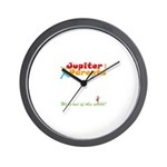 JupiterParents.com Logo Wall Clock