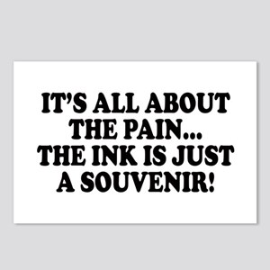 It's All About the Pain V1 Postcards (Package of 8
