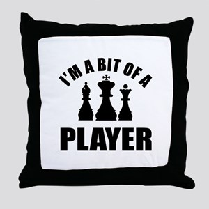 Cool Chess Designs Throw Pillow