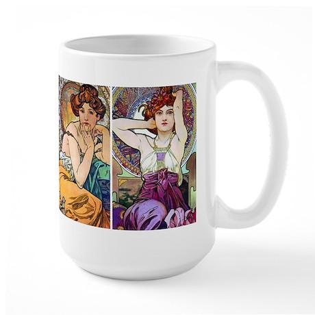 Mucha - Jewels Large Mug