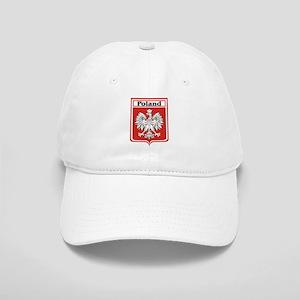 Poland Soccer Shield Cap