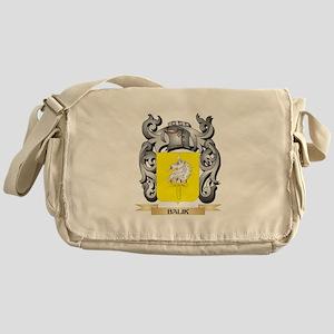 Balik Family Crest - Balik Coat of A Messenger Bag