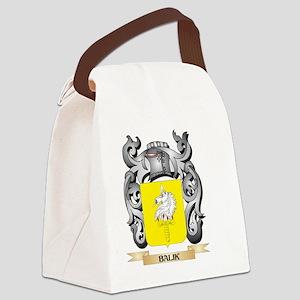 Balik Family Crest - Balik Coat o Canvas Lunch Bag