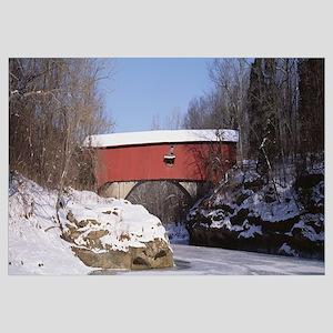 Narrows Covered Bridge Turkey Run State Park IN