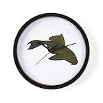 Pleco Wall Clock