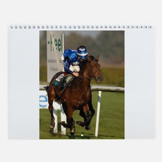 Racing Horse Wall Calendar