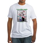 Office Zombie Fitted T-Shirt