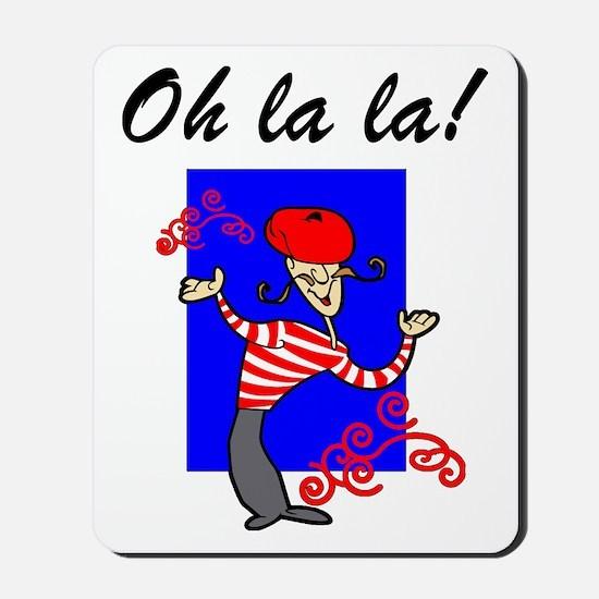 Oh La La French Mousepad