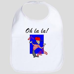 Oh La La French Bib