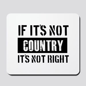 Cool Country designs Mousepad