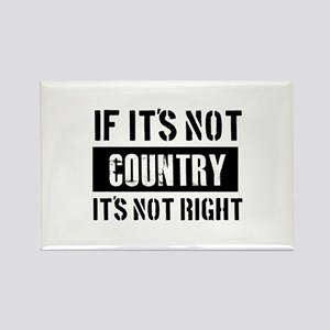 Cool Country designs Rectangle Magnet