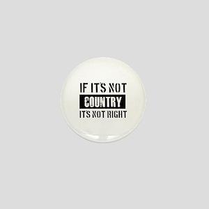 Cool Country designs Mini Button