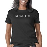 txt4fd.10x10.b Women's Classic T-Shirt