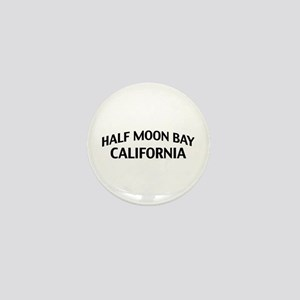 Half Moon Bay California Mini Button
