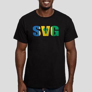 SVG Men's Fitted T-Shirt (dark)