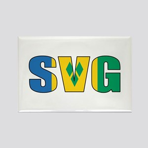 SVG Rectangle Magnet