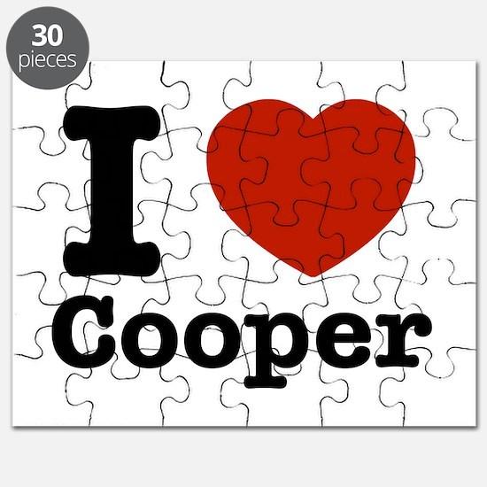 I love Cooper Puzzle