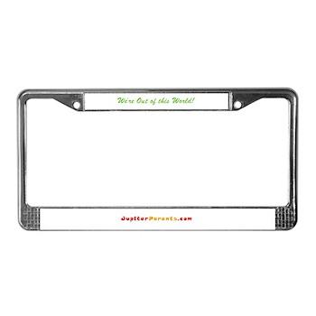 JupiterParents.com License Plate Frame