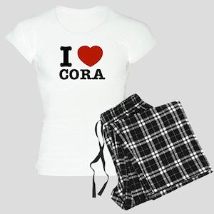 I love Cora Women's Light Pajamas