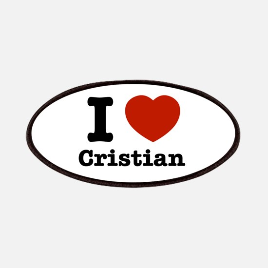 I love Cristian Patches