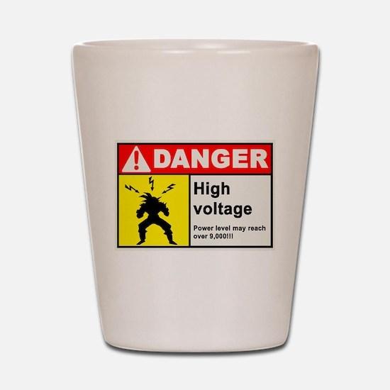High Voltage Shot Glass