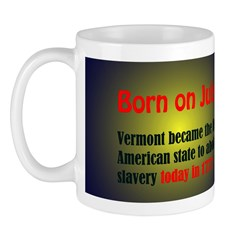 Mug: Vermont became the first American state to ab