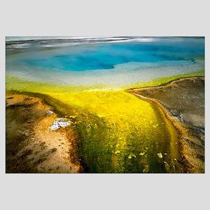 Wyoming, Yellowstone National Park, Rainbow Pool,